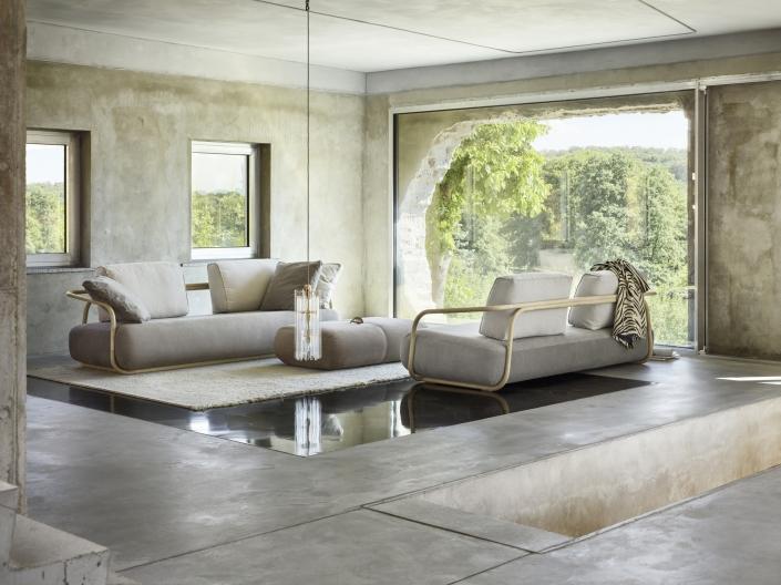 Thonet, Sofa, Bugholz, 2000, Design, außergewöhnlich