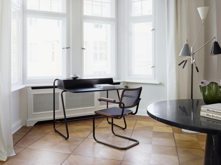 Thonet, Sekretär, Schreibtisch, S 1200, Freischwinger, S 64 N, Home Office, Design