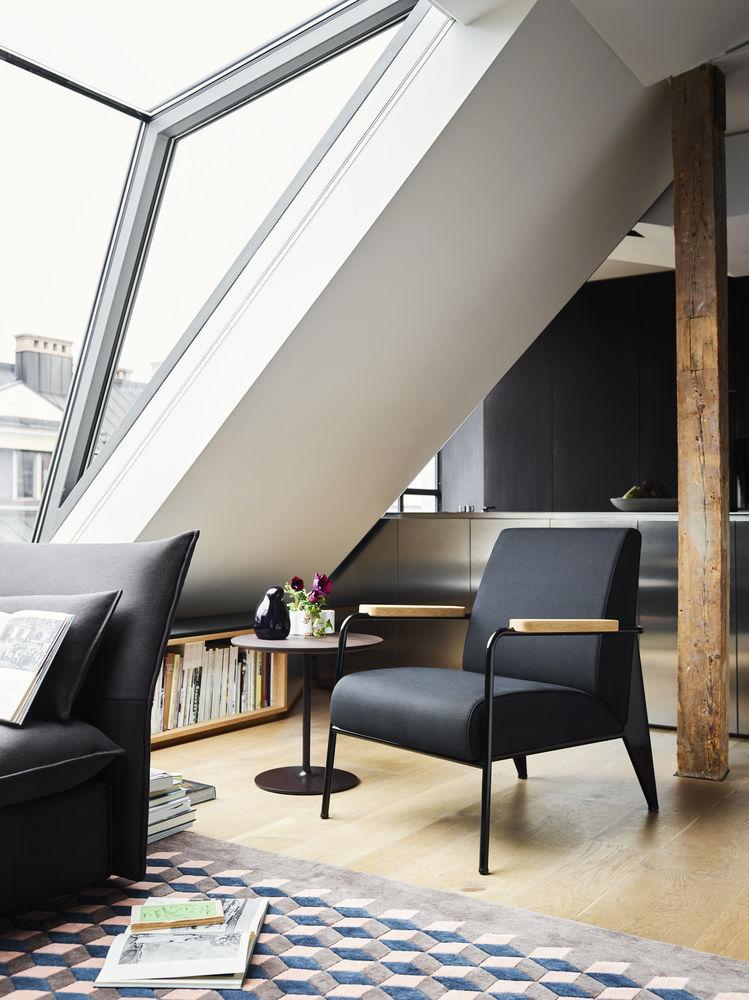 Vitra, Prouvé Fauteuil de Salon, Stuhl, Klassiker, Lounge, Eames Occasional Low Table, Beistelltisch, Design, Möbel, Wohnen, Inneneinrichtung