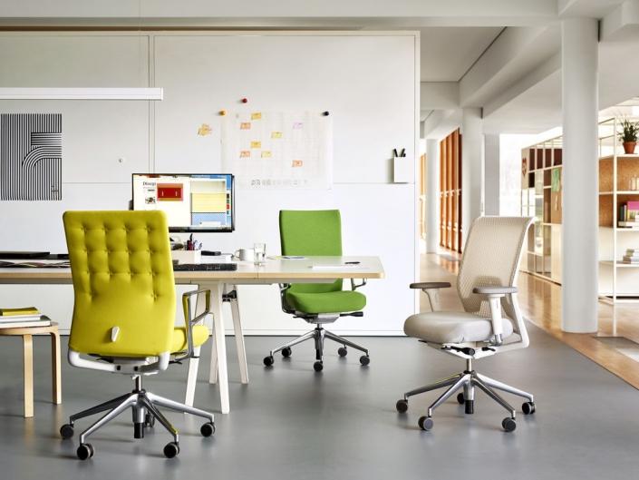 Vitra, ID Chair Collection, Bürodrehstuhl, Schreibtischstuhl, vielfältig, individuell, ergonomisch, Ergonomie am Arbeitsplatz