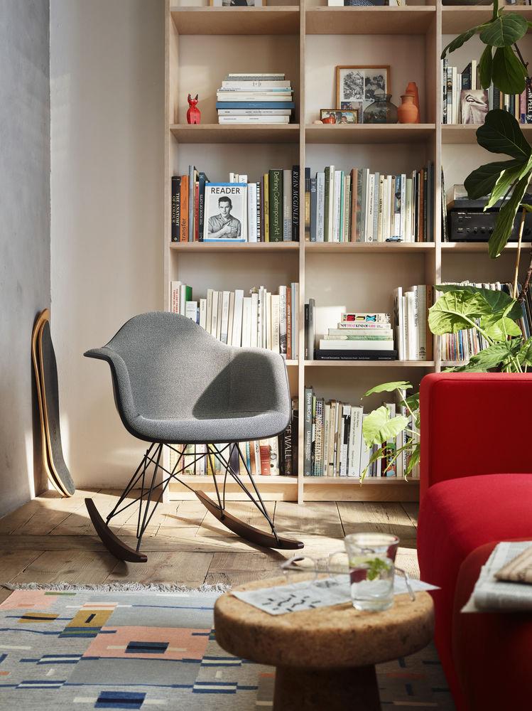 Vitra, Schaukelstuhl, RAR, Eames Plastic Chair, Schaukelstuhl, Wohnzimmer, Möbel, Wohnzimmereinrichtung