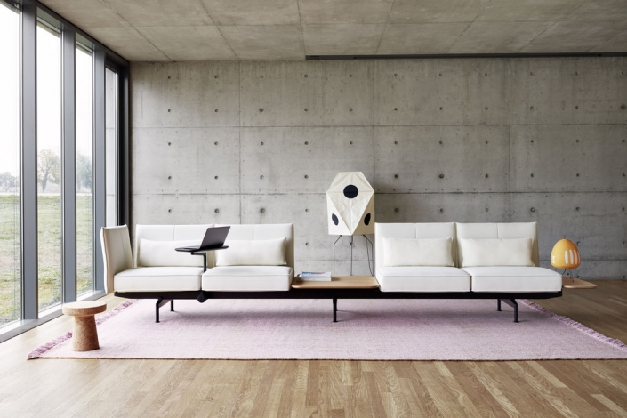 Vitra, Sofa, Soft Work, 4-seater, 4-sitzer, Wartebereich, Büro, Empfang