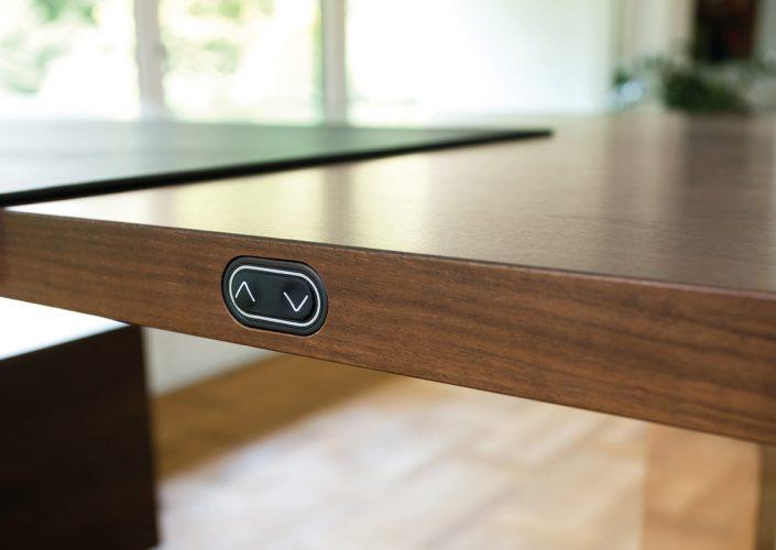 Spiegels Chefzimmer Con Air Tisch repräsentativ höhenverstellbar Design Chefbüro